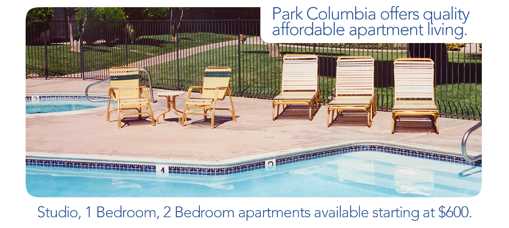 Welcome To Park Columbia Apartments Hemet 39 S Quality Affordable Apartment Living Studio 1 2